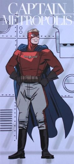 Minuteman - Captain Metropolis by Darwyn Cooke *