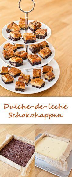 Dulce-de-leche-Schokohappen