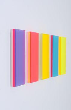 Regine Schumann | colormirror dornbirn - 2014, Edition von 7, 5-tlg.,34 x 14 x 3 cm