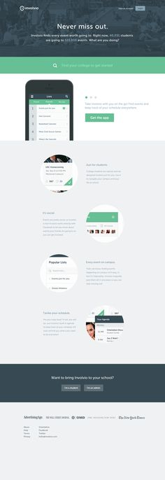 Clean and effective website made in Flat Design Flat Web Design, App Design, Icon Design, Ios, Splash Page, Innovation, Ui Design Inspiration, Ui Web, Web Layout