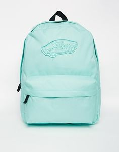 Mochila verde agua vans of the walls Vans Backpack, Jansport Backpack, Backpack Bags, Mochila Jansport, Cute Backpacks For School, Girl Backpacks, Back Bag, Girls Bags, Clothes