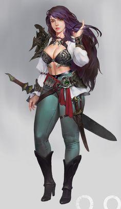 ArtStation - Sword master, ㅇㅇ Joo