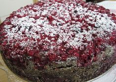 Makovo-orechový koláč s ríbezľami - recept   Varecha.sk Cake, Food, Basket, Recipes, Kuchen, Essen, Meals, Torte, Eten