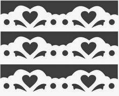 Kirigami Templates, Bird Stencil, Scrapbook Borders, Border Pattern, Cardboard Furniture, Pvc Pipe, Rooster, Stencils, Paper Crafts
