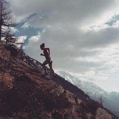 Emelie Forsberg - #UpHill training #TrailRunning #SkyRunning