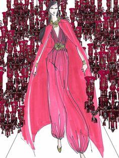 DOBLEPOST: 'Once Upon A Dream - Part 1': bocetos y escaparates