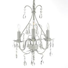 Wrought Iron Crystal Chandelier - Bed Bath & Beyond