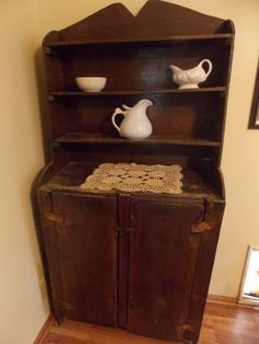 Dusty Old Thing...Hand made cabinet