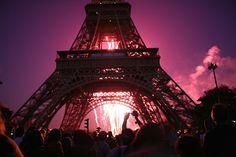 Bastille Day Fireworks, via Flickr.