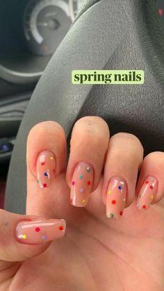 Cute Gel Nails, Funky Nails, Dope Nails, Nail Design For Short Nails, Cute Easy Nails, Short Nails Art, Nails Design, Spring Nails, Summer Nails