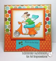 Mad Rider set card by @Tammie Koehnen