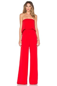 Jay Godfrey Moore Jumpsuit in Red | REVOLVE