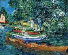 """Vincent Van Gogh """"Canoes"""""""