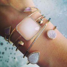 Bracelets Druze crystal