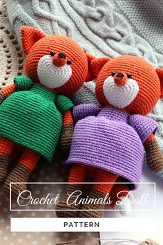 Crochet Animal Patterns, Crochet Patterns Amigurumi, Crochet Dolls, Handmade Ideas, Handmade Toys, Etsy Handmade, Fox Toys, Tutorial Crochet, Crochet Fox