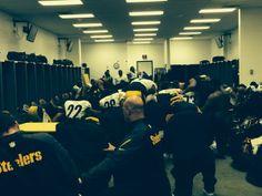 <3 these guys! --> Via Pittsburgh Steelers  @Pittsburgh Steelers Football Post-game in the locker room.