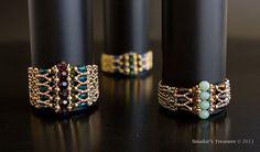 Bracelet de perles de Tutorial luxe Art déco. par SmadarsTreasure