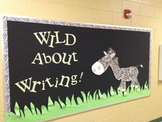 Bulletin Boards - Wild About Reading school theme