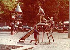 retro playground in Hungary