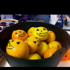 Healthy Halloween snack from a classroom parent. Great idea!