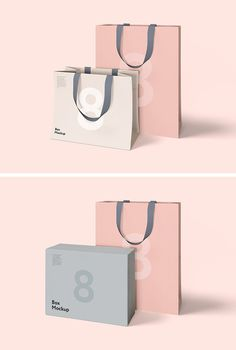 Fresh HD quality free Psd mockup templates to showcase your design. Place your artwork via easy-to-use Smart Objects and the mockup template will handle Luxury Packaging, Bag Packaging, Packaging Design, Branding Design, Brochure Design, Shopping Bag Design, Paper Shopping Bag, Paper Bag Design, Retail Bags
