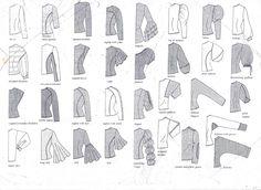 Sleeve styles.