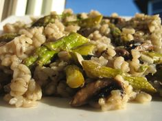 Gojee - Mushroom and Asparagus Risotto by Judicial Peach