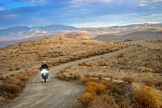 Canada to Mexico on the Continental Divide Motorcycle Trail
