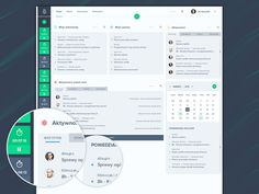 Dashboard designed for app made for lawyers to keep cases and documents in one place, colaborate with other lawyers and work time tracking.