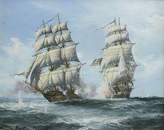 U.S. Privateer GRAND TURK vs H.M. Packet HINCHINBROOKE , 1st May 1814