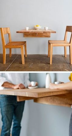 Making Your Own Wall Mounted Kitchen Table Kitchen Ideas