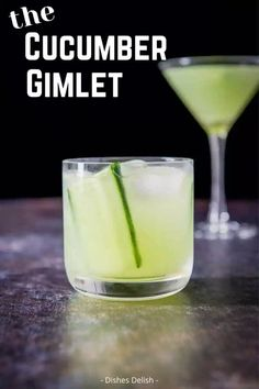 A refreshing twist on a classic, this cucumber gimlet recipe is easy to make and oh so satisfying. This gin-based cocktail is made with just a few simple ingredients and provides the perfect balance of crisp and sweet, without being overly sweet.