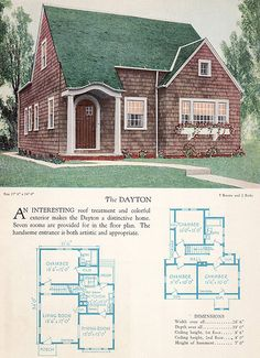 1928 Home Builders Catalog - The Dayton | Flickr - Photo Sharing!