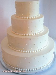 no topper. simple and clean white cake. classic. no tacky toppers or initials.#Repin By:Pinterest++ for iPad#