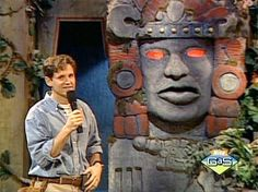 Legends of the Hidden Temple! Always wanted to be on this show!! GO SILVER TEAM!!:)