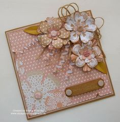 Cards With A Difference by Emma Scrapbooks, Envelopes, Card Creator, Craftwork Cards, Origami, Some Cards, Card Making Inspiration, Pretty Cards, Flower Cards
