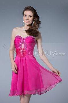 Lovely Sweetheart Beading Short/Mini A-Line Homecoming/Prom Dress : Tidebuy.com