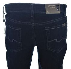 7 For All Mankind Womens Dark Blue Bootcut Jeans Size 26 NWT  Was $178, Now US $74.95  #7ForAllMankind #StraightLeg