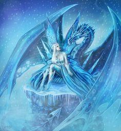 The Fairy of Winter by CLB-Raveneye.deviantart.com on @DeviantArt