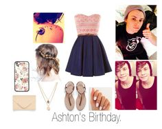 """""""With Ashton. 4"""" by my-dreams29 ❤ liked on Polyvore featuring beauty, Kenneth Cole, Zara and Accessorize"""