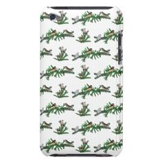 Zebra Finch Party iPod Touch Case (choose colour) - pattern sample design template diy cyo customize