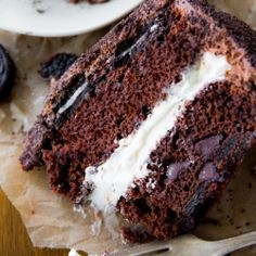 This Oreo Layer Cake is life-changing! If you love oreos, you have got to try this recipe.