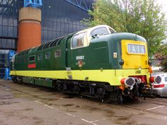 Category:British Rail Class 55 (TOPS 55002 The King's Own Yorkshire Light Infantry) Electric Locomotive, Diesel Locomotive, Rail Train, Train Of Thought, National Railway Museum, Old Trains, British Rail, Train Engines, Train Tickets