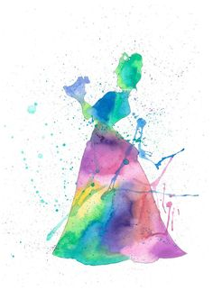 The Frog Princess watercolor print, by Autumn Marble, 8x10 by HomeIllustration on Etsy