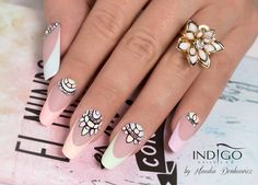Pastels Nails by Klaudia Demkiewicz, Indigo Educator Łódź #nails #nail #pastel…