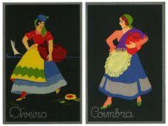 Resultado de imagem para bonecas de papel com os trajes regionais portugueses