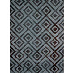 David Hicks Fiorentina Wallpaper Sisal/Cotton by Groundworks in Sepia/Blue Geometric Fabric, Geometric Wallpaper, Of Wallpaper, Pattern Wallpaper, Geometric Shapes, David Hicks, Mulberry Home, Lee Jofa, Textiles