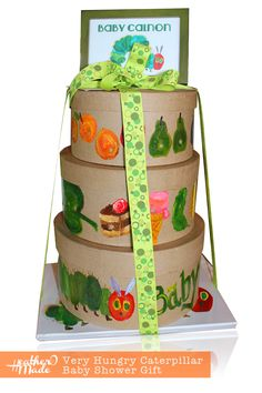 Very Hungry Caterpillar Baby Shower Gift