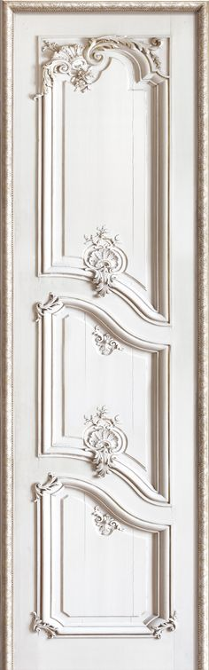 French Trompe l'oeil wallpaper by Christophe Koziel - Right panelled door