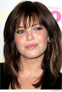 Chirpy long hairstyles with Bangs
